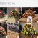 Blumen Sarggestecke